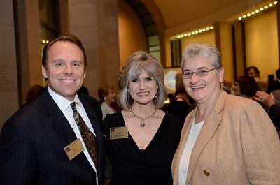 Jerry Strawser '83, Susan Strawser, Karan Watson