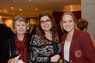Mary Schrank, Corina Dominguez, Jordan Symon '14