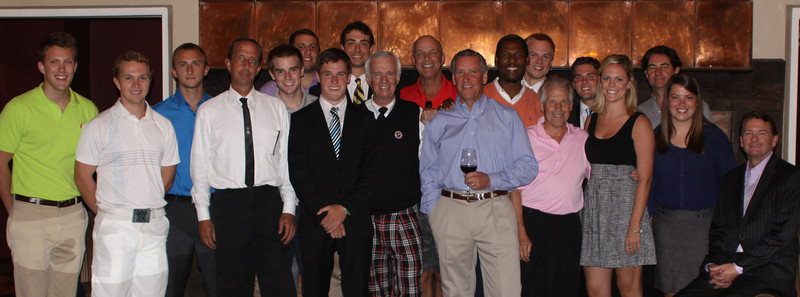 Sept. 10, 2012<br /> Hickory Stick Invitational<br /> Forest Lake Country Club, Bloomfield Hills, Mich.