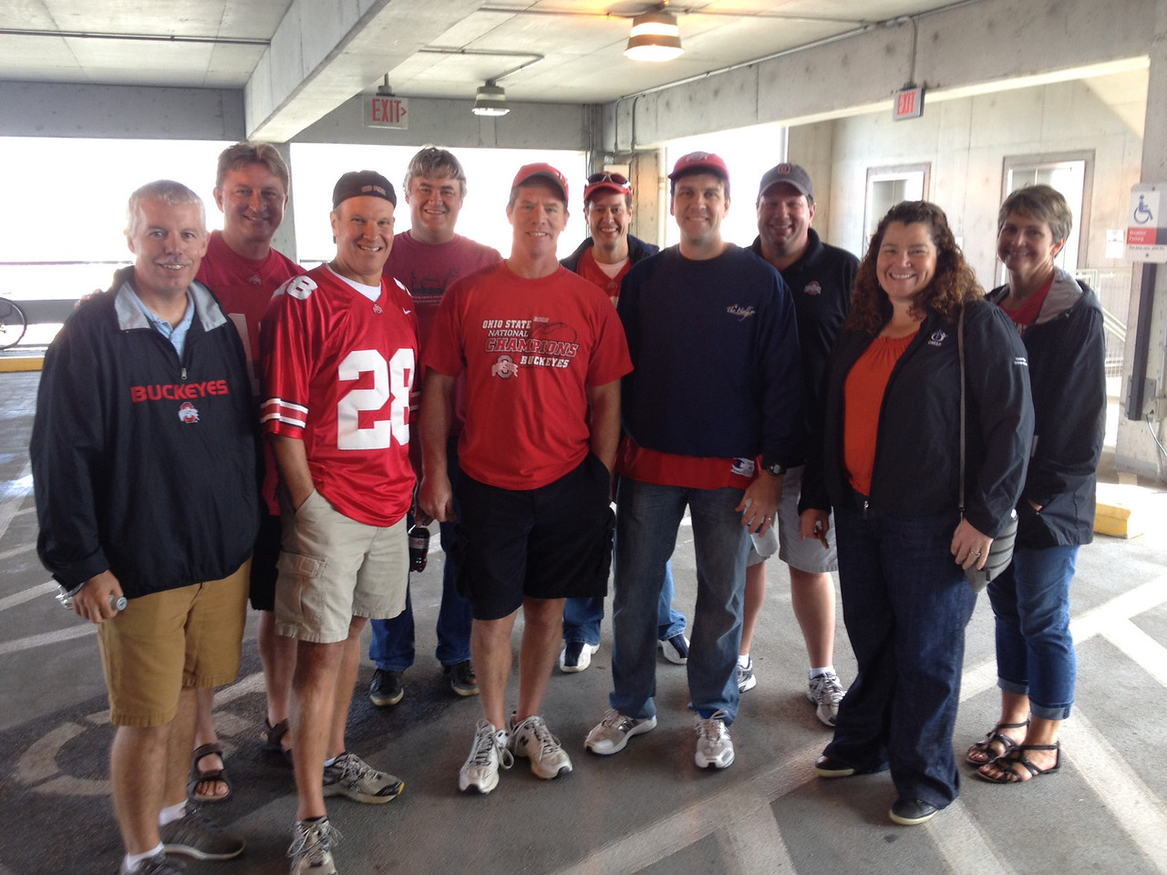 Sept. 7, 2012<br /> Ohio State Alumni Tailgate