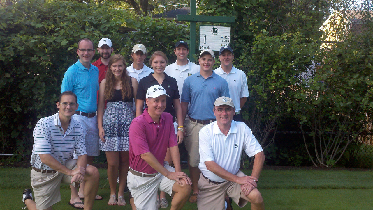 July 22, 2012<br /> Riverside Evans Scholars Day<br /> Riverside Golf Club, Riverside, Ill.