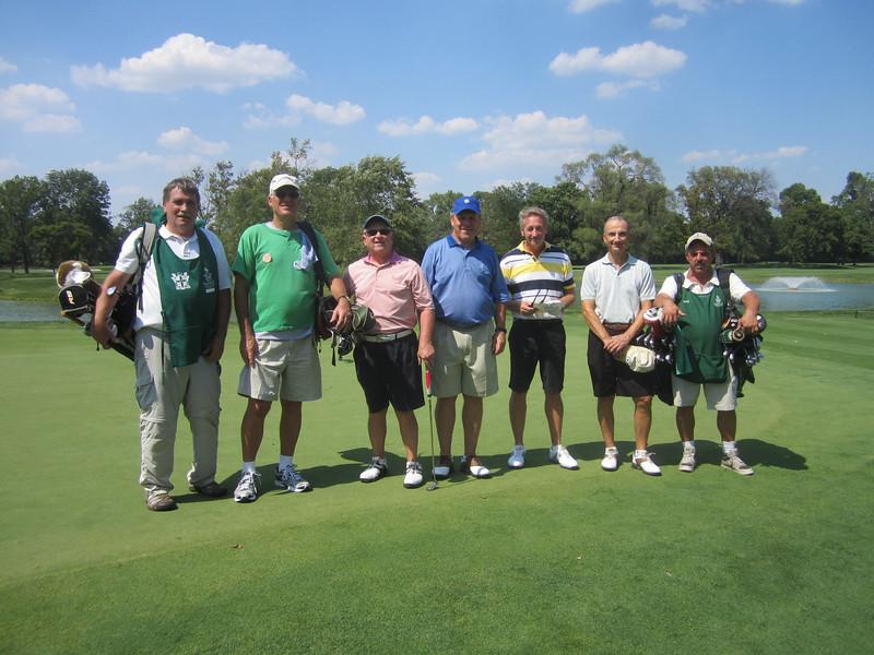 Aug. 25, 2012<br /> Oak Park Country Club Evans Scholars Day<br /> Oak Park Country Club, River Grove, Ill.