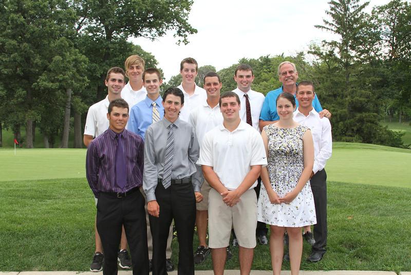 July 23, 2012<br /> Medinah Evans Scholars Day and Jeff Kallman Memorial<br /> Medinah Country Club, Medinah, Ill.