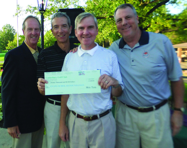 Aug, 20, 2012<br /> Northeast Ohio Evans Scholars Fundraiser<br /> Canterbury Golf Club, Beachwood, Ohio