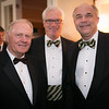 Jack Nicklaus, Dennis Jones and Jay Javors<br /> Green Coat Gala at The Peninsula Hotel on Nov. 6, 2013<br /> ©Charles Cherney Photography