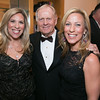 Sharyl Mackey, Jack Nicklaus and Laura Foxman<br /> Green Coat Gala at The Peninsula Hotel on Nov. 6, 2013<br /> ©Charles Cherney Photography