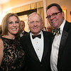 Peggy Kusinski, Jack Nicklaus and Jason Kinander<br /> Green Coat Gala at The Peninsula Hotel on Nov. 6, 2013<br /> ©Charles Cherney Photography