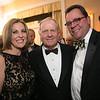 Peggy Kusinski, Jack Nicklaus and Jason Kinander<br /> Green Coat Gala at The Peninsula Hotel on Nov. 6, 2013<br /> ©Charles Cherney Photography