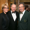 Letitia Murphy, Jack Nicklaus and Jim Murphy<br /> Green Coat Gala at The Peninsula Hotel on Nov. 6, 2013<br /> ©Charles Cherney Photography