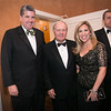 Mike Mackey, Jack Nicklaus and Sharyl Mackey<br /> Green Coat Gala at The Peninsula Hotel on Nov. 6, 2013<br /> ©Charles Cherney Photography