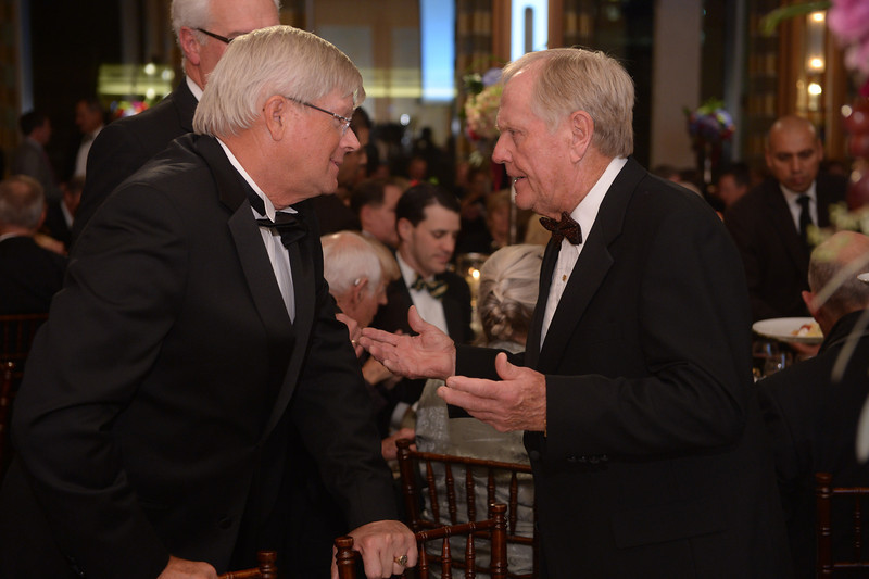 Fritz Corrigan and Jack Nicklaus <br /> Green Coat Gala at The Peninsula Hotel on Nov. 6, 2013<br /> ©Charles Cherney Photography
