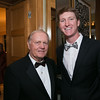 Jack Nicklaus and Jordan Niebrugge <br /> Green Coat Gala at The Peninsula Hotel on Nov. 6, 2013<br /> ©Charles Cherney Photography