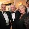 Dave Kallman, Jack Nicklaus and Karen Kallman<br /> Green Coat Gala at The Peninsula Hotel on Nov. 6, 2013<br /> ©Charles Cherney Photography