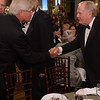 Fritz Corrigan and Jack Nicklaus<br /> Green Coat Gala at The Peninsula Hotel on Nov. 6, 2013<br /> ©Charles Cherney Photography
