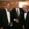 George Solich, Andy North and Jack Nicklaus<br /> Green Coat Gala at The Peninsula Hotel on Nov. 6, 2013<br /> ©Charles Cherney Photography