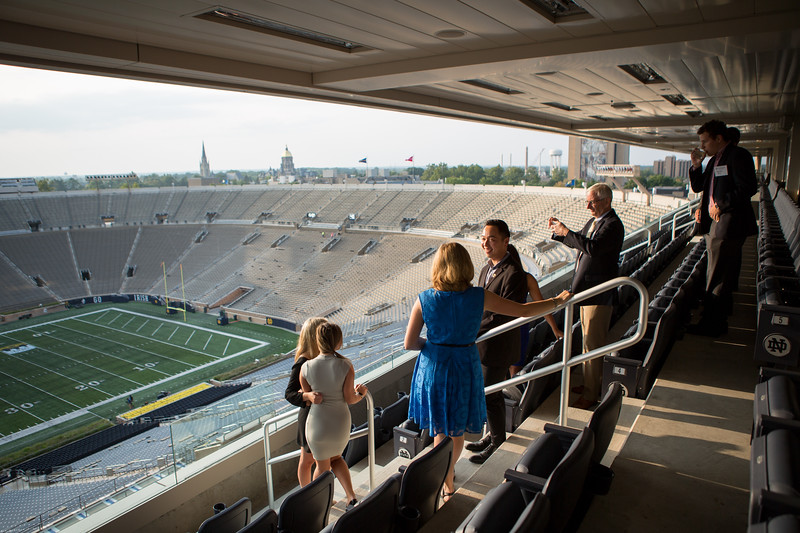 (Photo by Jennifer Mayo/University of Notre Dame)