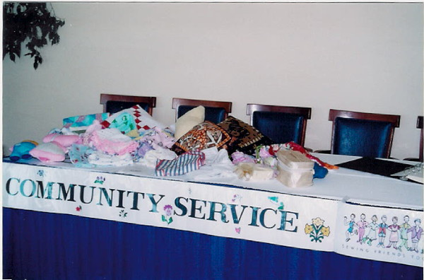 The Community Service table