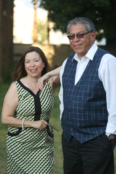 Eve Gomez and Juan Andrade