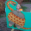 Eve on safari