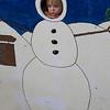 Eve as a snowman