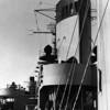 Ship's funnel.