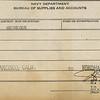 Evelyne Farmer's receipt for subsistence from San Francisco to Yokohama ($15.75).