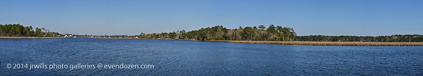 Fowl River fron Bellingrath Gadens Dock