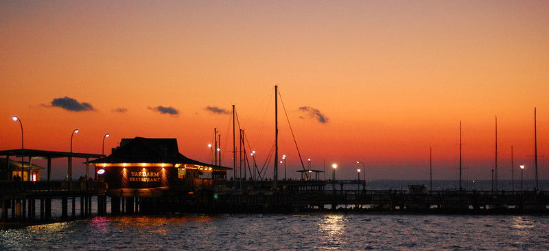 Yardarm Restaurant on the pier - Fairhope, Alabama