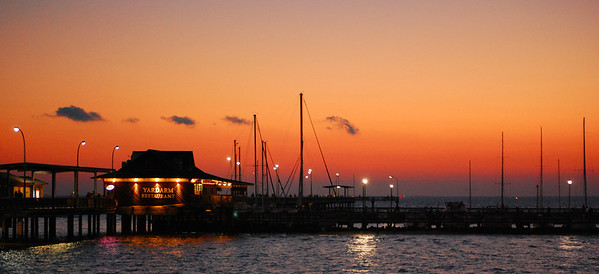 Yardarm Restaurant on the pier - Fairhope, Alabama
