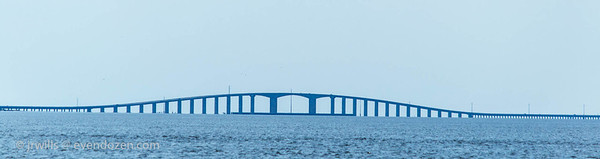 Dauphin Island bridge.