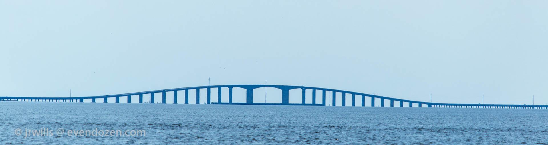 Dauphin Island bridge.