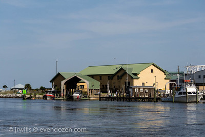 US Coast Guard Station Dauphin Island, AL. It's a tough assignment but somebody's got to step up.