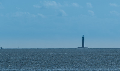 Mobile Bay Lighthouse - probably 2-3 miles away.