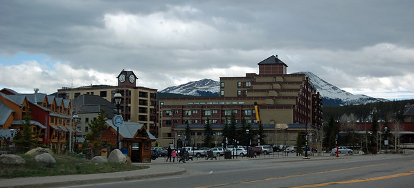 Breckenridge. I was impressed by the beautiful simple lines of the buildings in this photo