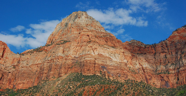 Second day, driving into Zion