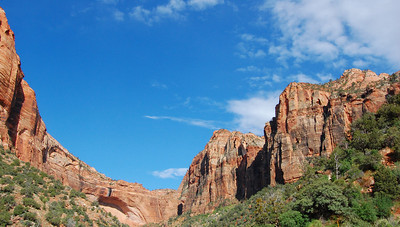 Second day, leaving Zion