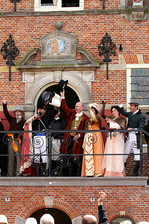2 mei 2009 intocht Willem I Oud-Beijerland