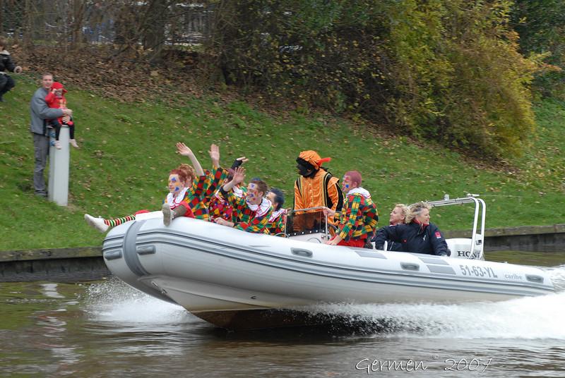 Sint Nicolaas intocht Leeuwarden 2007