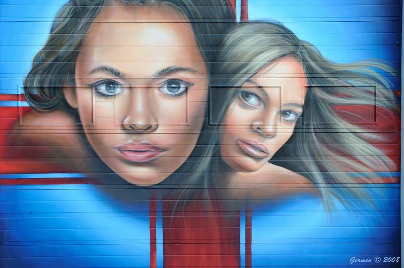 Graffiti Philips gebouw