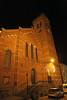 Kerst in Steendorp 2011 - Kerstverlichting aan de kerk in de Gelaagstraat