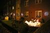 Kerst in Steendorp 2014 - Kerststal en -verlichting op het Vuurkouterplein