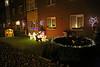Kerst in Steendorp 2015 - Kerststal en -verlichting op het Vuurkouterplein