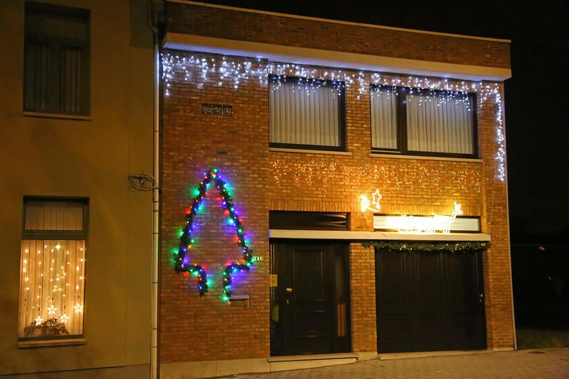 Kerst in Steendorp 2015 - Kerstverlichting in de Gelaagstraat