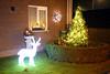 Kerst in Steendorp 2016 - Kerststal en -verlichting op het Vuurkouterplein