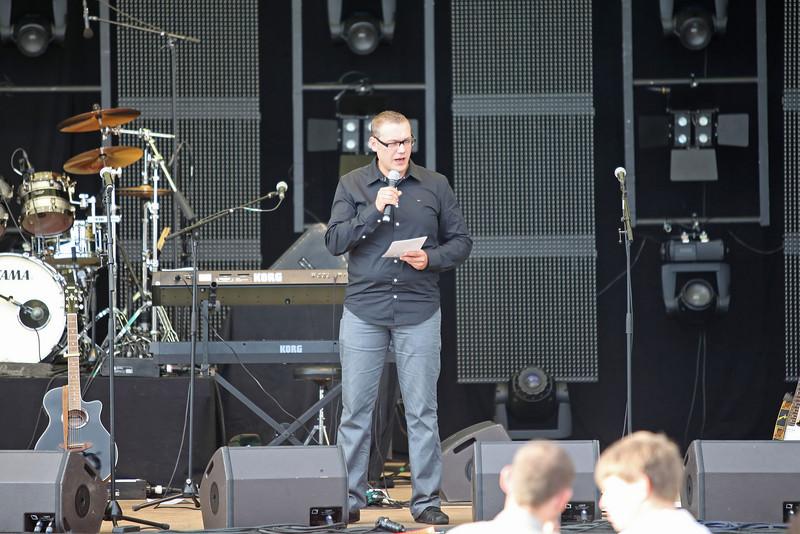 Temse in de Wolken 2010 - Presentator Jurgen Boel