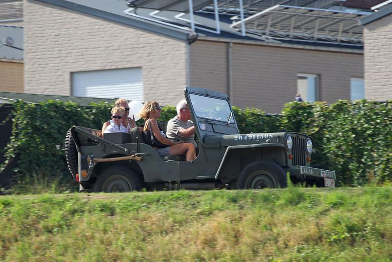 Verkeershappening 2012 - AC De Zaat, Temse<br /> Rondritten met jeeps