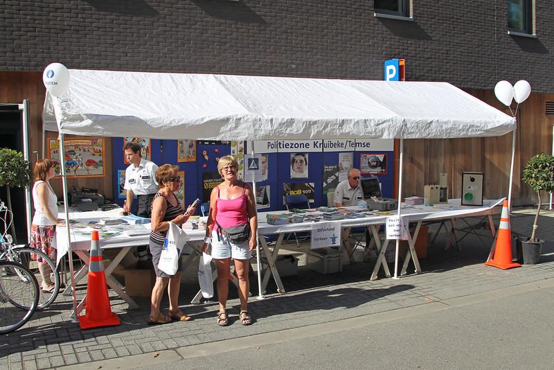 Verkeershappening 2012 - AC De Zaat, Temse<br /> Stand van de lokale politie