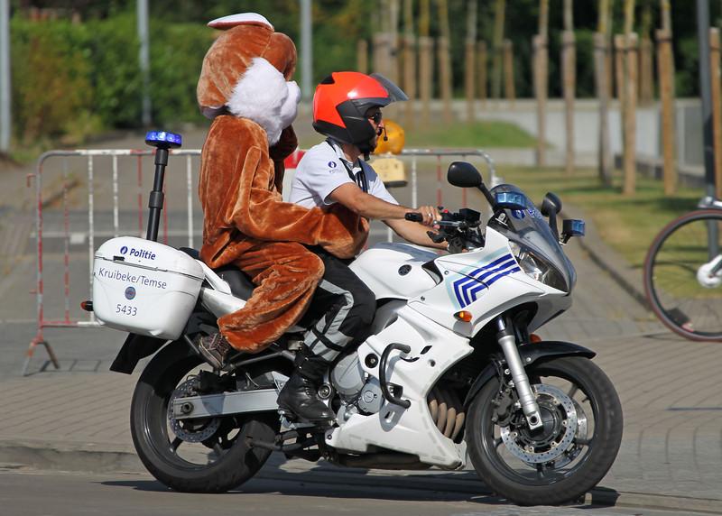 Verkeershappening 2012 - AC De Zaat, Temse<br /> Rondritten met politiemotoren van Kruibeke/Temse en Lokeren