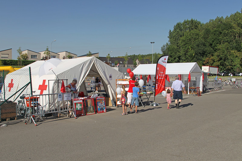 Verkeershappening 2012 - AC De Zaat, Temse<br /> Stand van het Rode Kruis