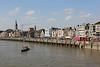 Viering 100 Jaar Internationale Vliegweek in Temse - Zondag 16 september 2012<br /> Historische vaartuigen op de Schelde - Zicht op de Wilfordkaai vanaf de Temsebrug